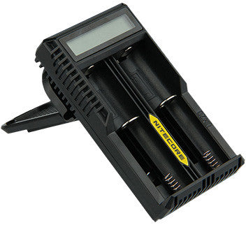 Nitecore Intellicharger UM20 LCD Li-ion Battery Charger - Ecigar  - 5