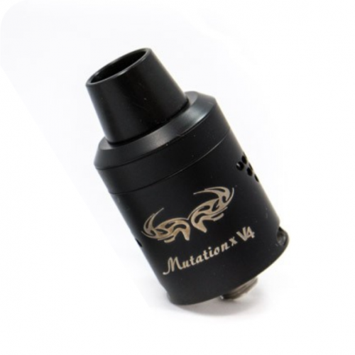 Excellent Quality Mutation X V4 BLACK Styled RDA - HUGE VAPOR - Mygadget.us