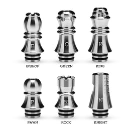 510 Drip Tip Unique Chess Appearance Design