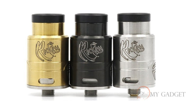 Reckless rda *Easy to build and Great Quality* - Mygadget.us