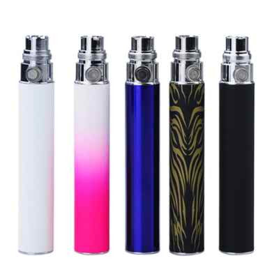 5Pcs 900mAh EGO-CE4S Battery for Electronic Cigarette-Blue/Pink/Black/White/Wood Grain - Mygadget.us