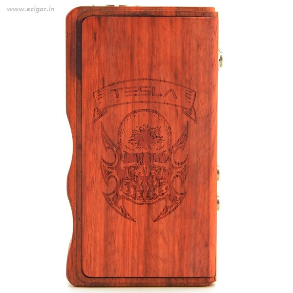 Tesla Wood 120W Box Mod  - 2 Optional Colors - Mygadget.us