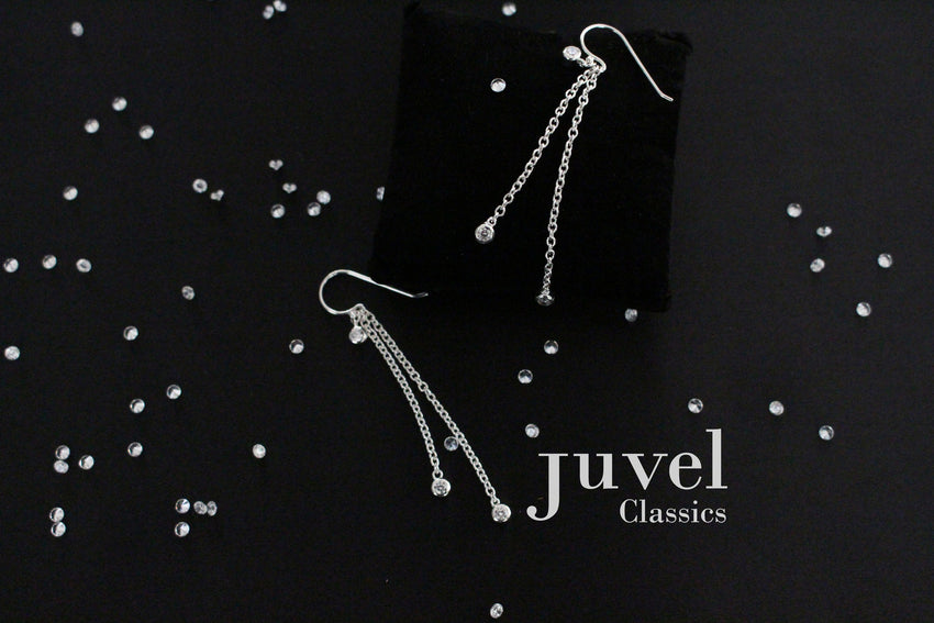 "Juvel Classic Double Chain 1.5"", 2"" Earrings"