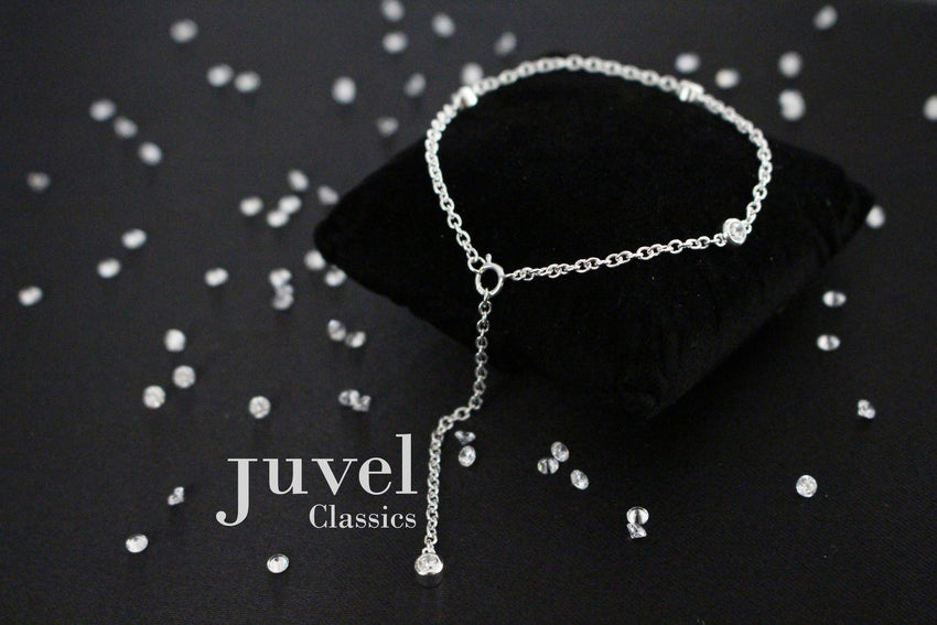"Juvel Classic Tight-Fit 2"" Single Chain Bracelet"