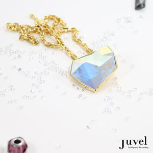 Juvel Fancy Aurore Boreale Necklace (14K Gold Plated)