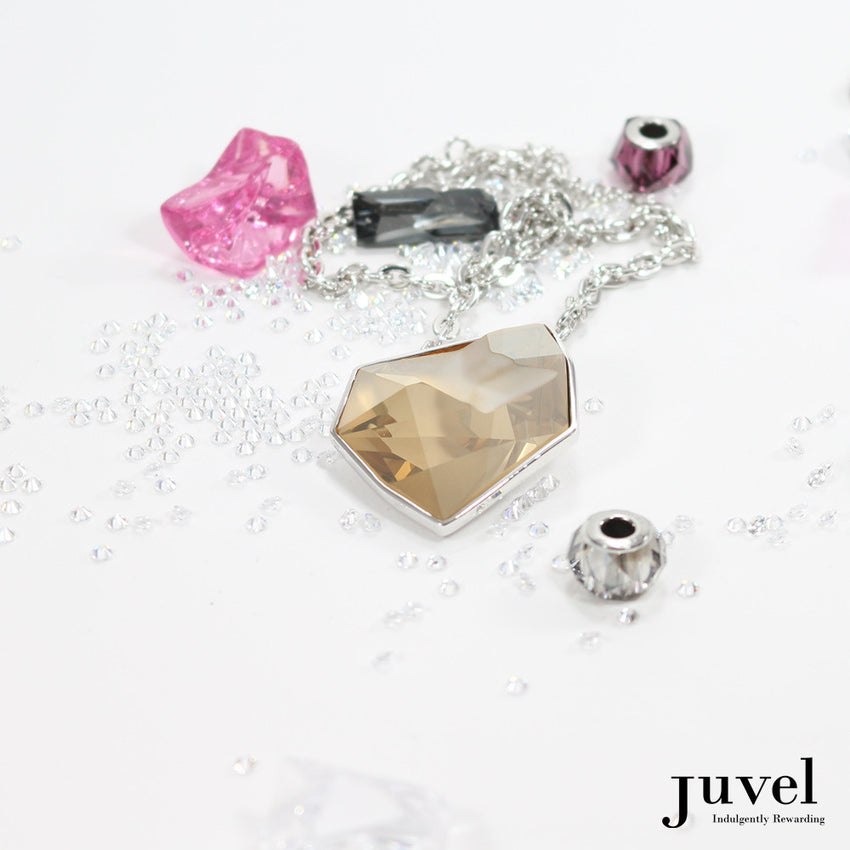 Juvel Fancy Golden Shadow Necklace