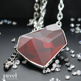 Juvel Fancy Red Magma Necklace
