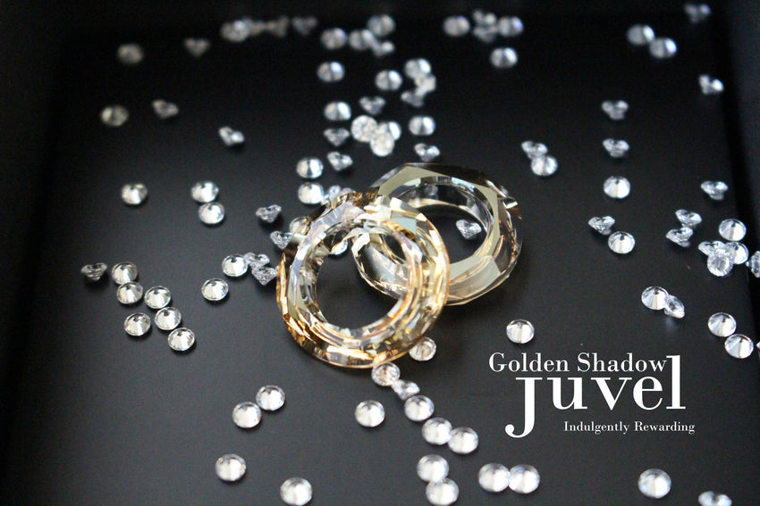Juvel Gatsby Golden Shadow Necklace