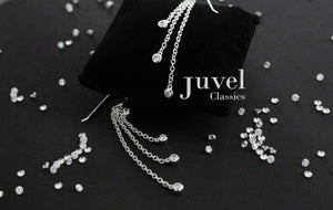 Juvel Classic Triple Chain Earrings