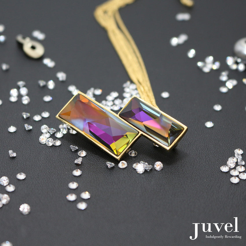 Juvel Double Volcano (14K Gold Plated)