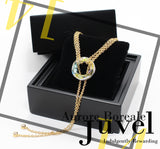 Juvel Gatsby Aurore Boreale Necklace (14K Gold Plated)
