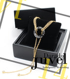 Juvel Gatsby Dorado Necklace (14K Gold Plated)