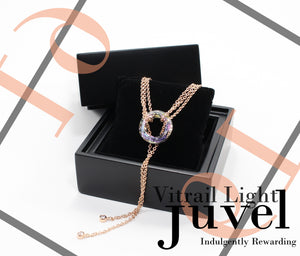 Juvel Gatsby Vitrail Light Necklace (19K Pink Gold Plated)