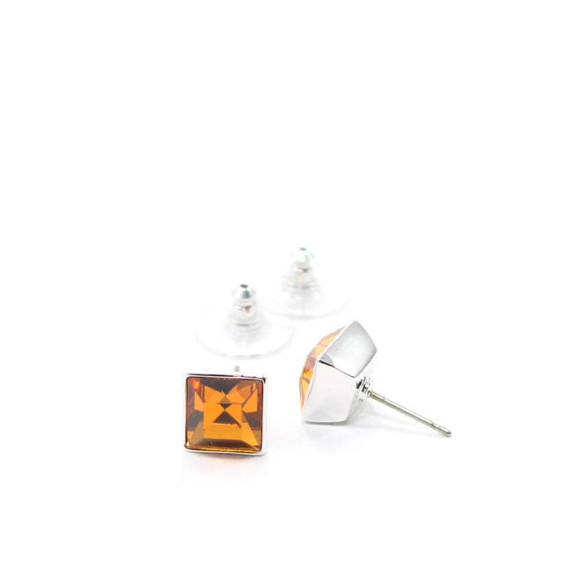 Juvel Topaz Square 0.9 Earrings