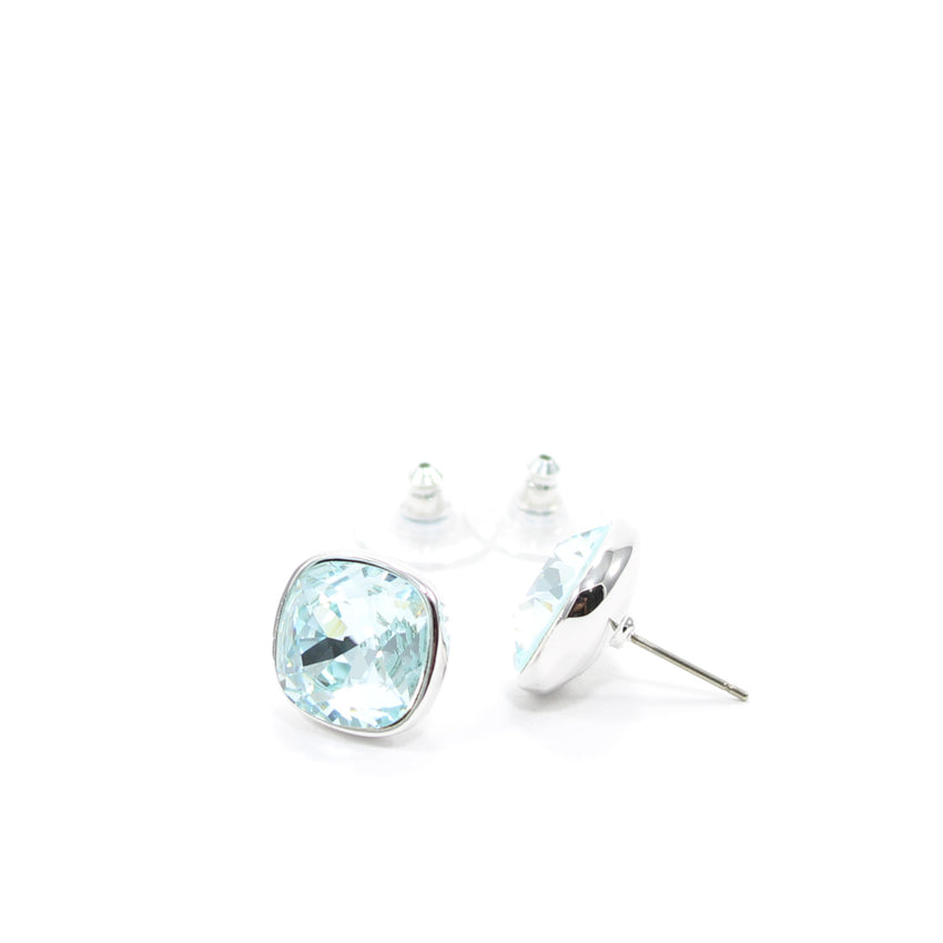 Juvel Cushion Cut Light Azore 1.3 Earrings