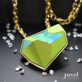 Juvel Fancy Scarabaeus Necklace (14K Gold Plated)