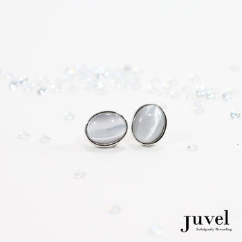 Juvel CatEye Grey Earrings