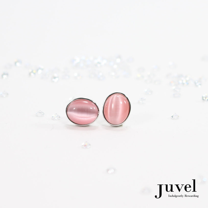 Juvel CatEye Pink Earrings