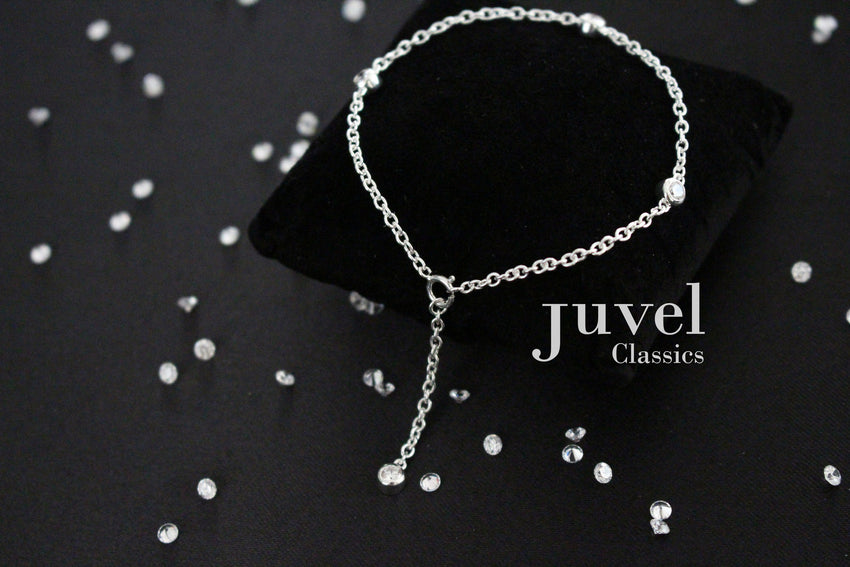 "Juvel Classic Tight-Fit 1"" Single Chain Bracelet"