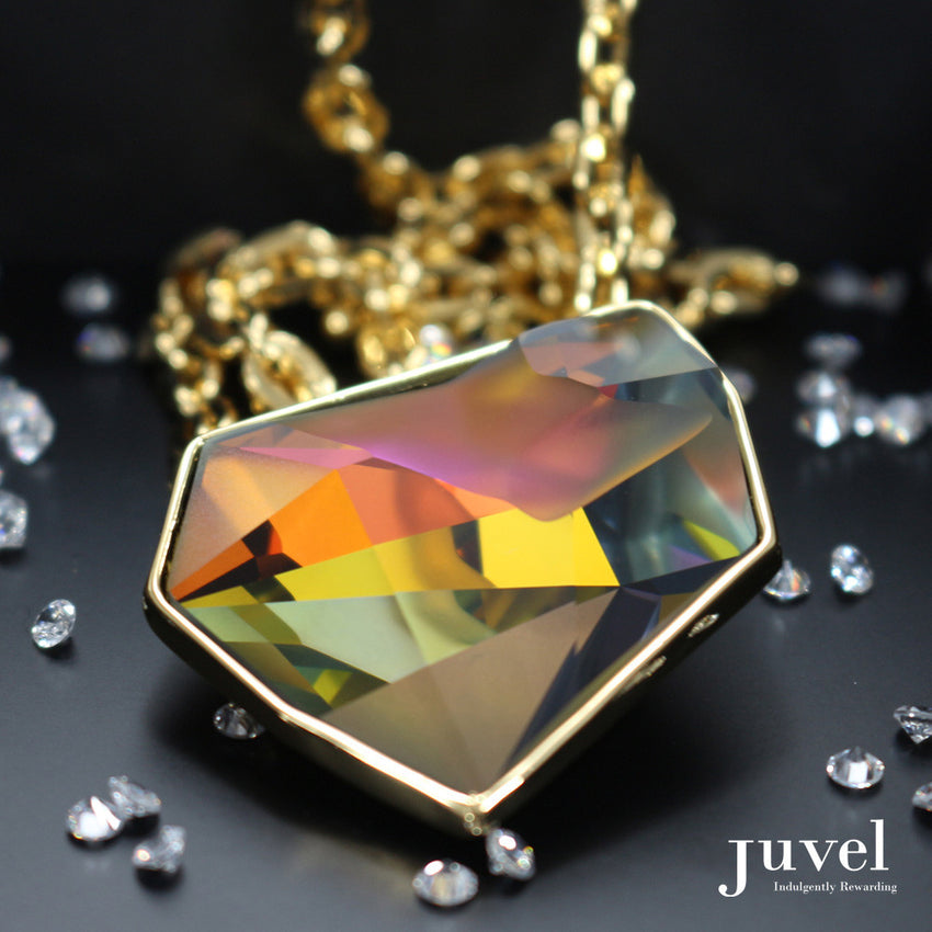 Juvel Fancy Volcano Necklace (14K Gold Plated)