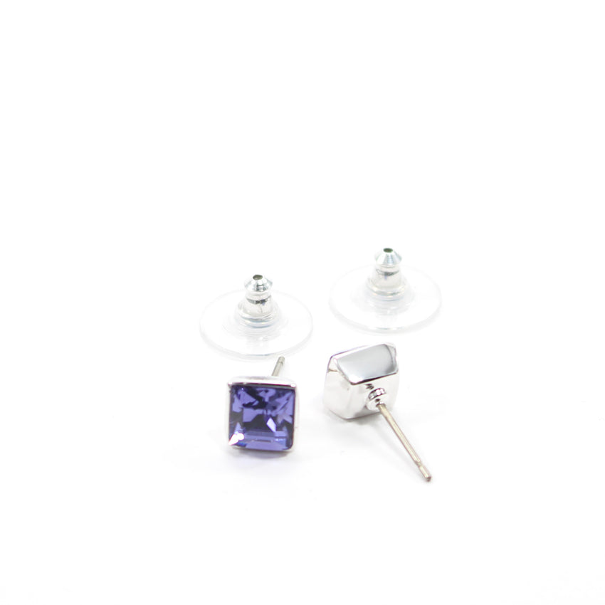 Juvel Tanzanite Square 0.7 Earrings