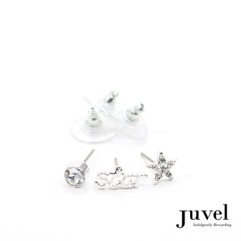 Juvel 3 Piece Star Earrings