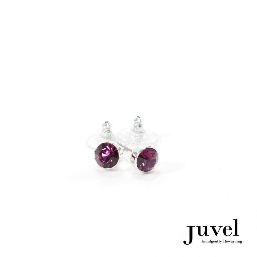 Juvel Amethyst 0.8 Earrings