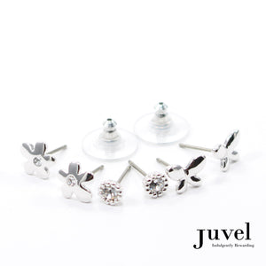 Juvel 3 Pairs Set Earrings