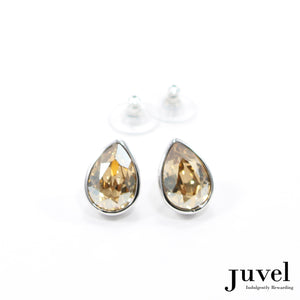 Juvel Golden Shadow Tear Drop Earrings