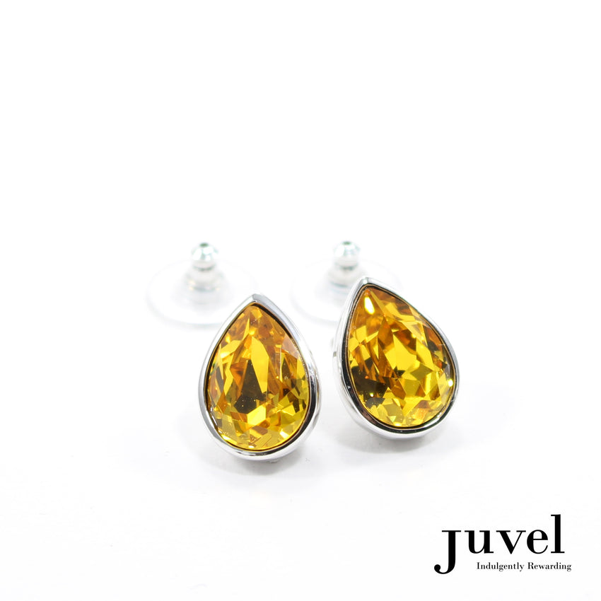 Juvel Sunflower Teardrop Earrings