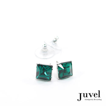 Juvel Emerald Square 0.9 Earrings