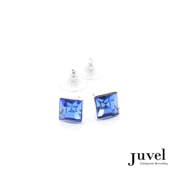 Juvel Sapphire Square 0.9 Earrings
