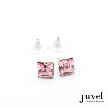 Juvel Rose Square 0.9 Earrings