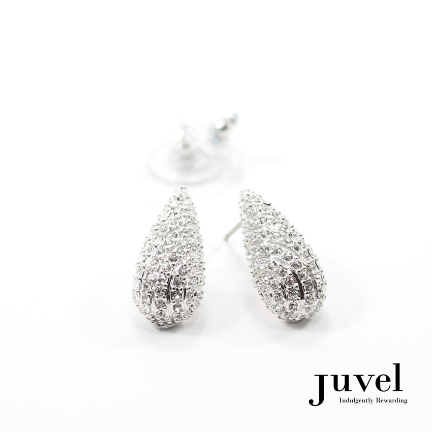 Juvel Brilliant Clear Earrings