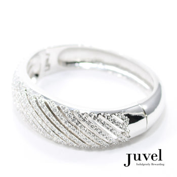 Juvel Brilliant Clear Bangle