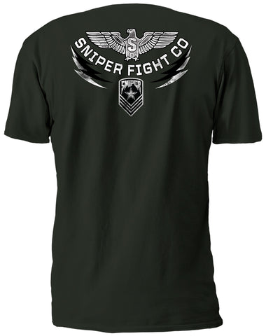 SFW LET IT RAIN S/S MILITARY GREEN T-SHIRT
