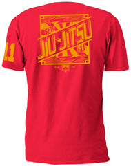 SFW JIU-JITSU S/S RED T-SHIRT