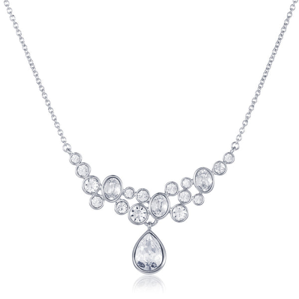 Titania multi bubble necklace