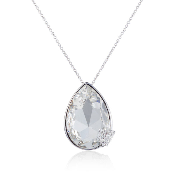 Titania grand pear shape pendant