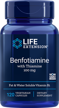 Benfotiamine with Thiamine- Life extension