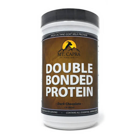 Mt Capra Double Bonded Protein Chocolate 1lb