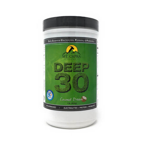 Mt Capra DEEP-30 Total Nutrition Coconut Dream 1lb