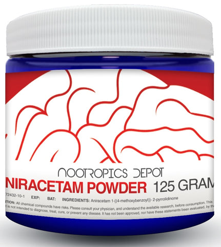 Nootropics Aniracetam Powder 125g - R680 -Please contact us to order