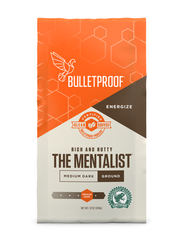 The Mentalist Dark Roast Ground - 12oz