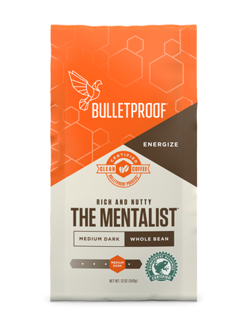 Bulletproof The Mentalist Dark Roast Whole Bean - 12oz