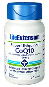 Super Ubiquinol C0Q10 and With Enhanced Mitochondrial support