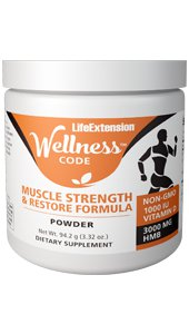Life Extension Wellness Code™ Muscle Strength and Restore Formula NEW