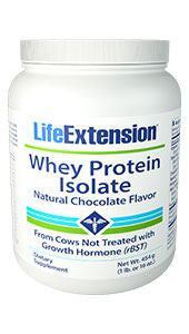 Life Extension Whey Protein Isolate (Natural Chocolate Flavor)