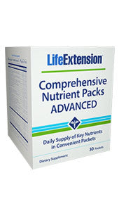 Life Extension Comprehensive Nutrient Packs ADVANCED