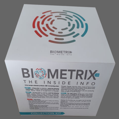 Biometrix Labs Urine Organic Acid testing